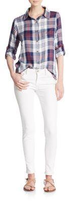 Noho Plaid Shirt $98 thestylecure.com