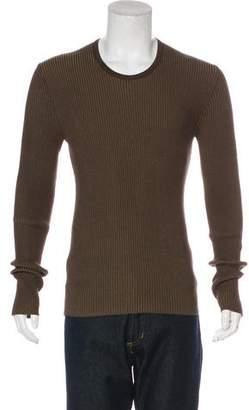 Dolce & Gabbana Rib Knit T-Shirt