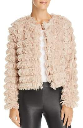 Sage the Label Prism Faux-Feather Jacket