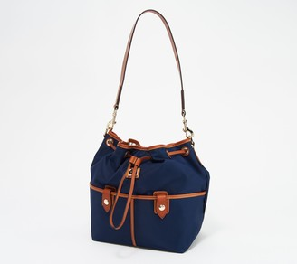 Dooney & Bourke Camden Collection Nylon Drawstring Bag