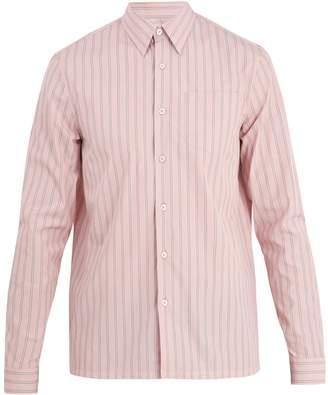Prada Striped regular-fit cotton shirt