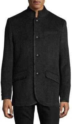 Karl Lagerfeld Military Blazer
