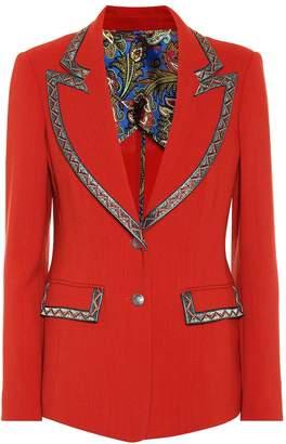 Etro Wool-blend blazer
