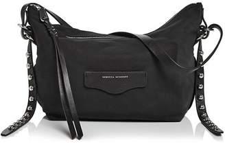 Rebecca Minkoff Bowie Nylon Studded Shoulder Bag