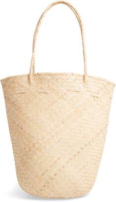Street Level Rattan Bucket Bag