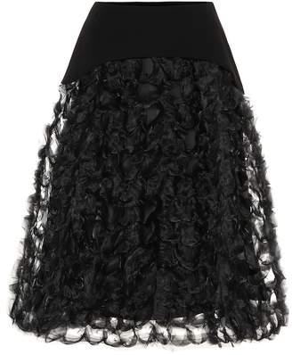 Noir Kei Ninomiya Organza skirt