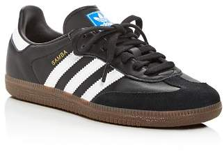 adidas Women's Samba OG Leather & Suede Lace Up Sneakers
