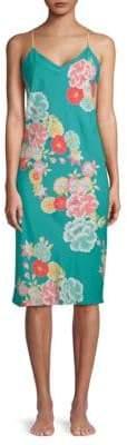 Natori Printed Floral Slip