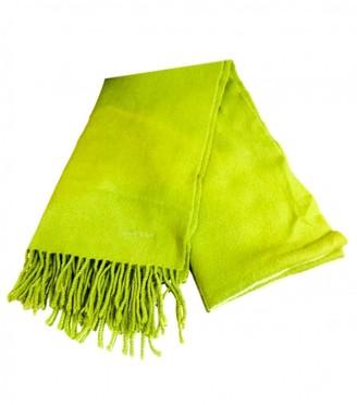 Hermes Green Cashmere Scarves