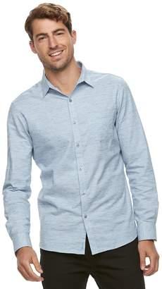 Marc Anthony Men's Slim-Fit Pocket Button-Down Shirt