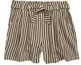 Treasure & Bond Paperbag Waist Stripe Shorts