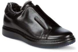Karl Lagerfeld Laceless Leather Shoes