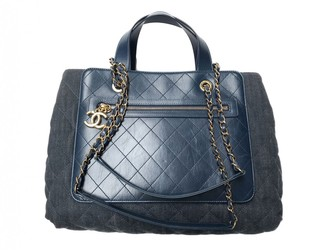 Chanel Grand shopping Other Cotton Handbags