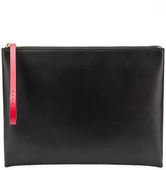 Marni block colour large pouch