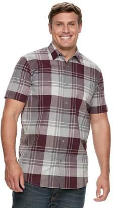 Apt. 9 Big & Tall Premier Flex Plaid Modern-Fit Stretch Woven Button-Down Shirt