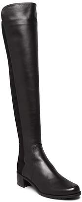 Stuart Weitzman Women's Reserve Leather Over-the-Knee Boots