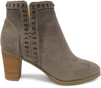 Expression Kimmy Faux Suede Grommet Bootie