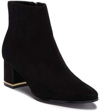 Calvin Klein Felicia Suede Block Heel Boot
