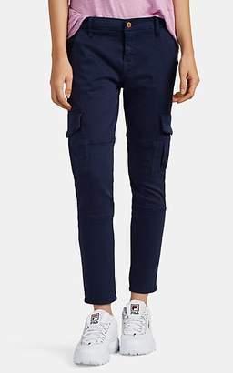 NSF Women's Vincent Cotton-Blend Skinny Cargo Pants - Navy
