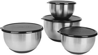 Berghoff Stainless Steel Covered Mixing Bowl Set