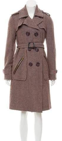 Marc by Marc Jacobs Tweed Wool Coat