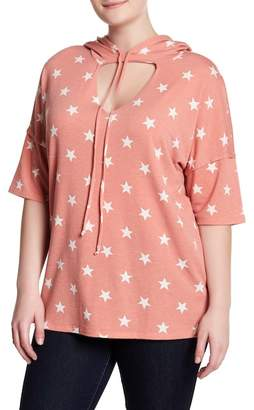 HIATUS Cut Out Star Pullover (Plus Size)