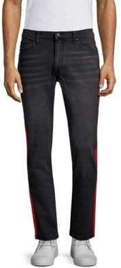 Ovadia & Sons Slim Fit Stripe Jeans
