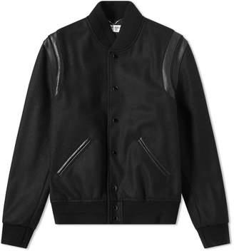 Saint Laurent Light Wool Teddy Jacket