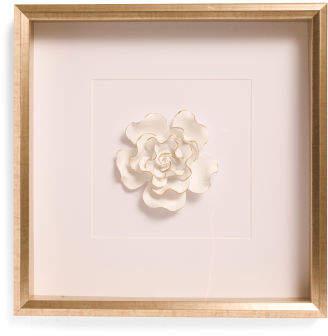 16x16 Peony Legacy Floral Shadow Box