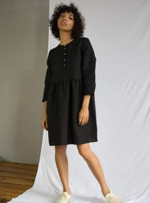 Beaumont Organic FREYA Linen Dress in Black
