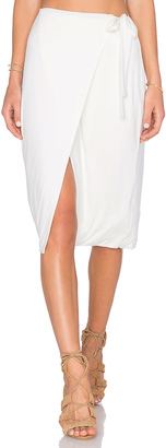 House of Harlow x REVOLVE Sloane Wrap Skirt $128 thestylecure.com