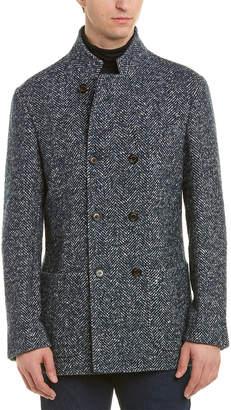 Brunello Cucinelli Wool & Cashmere-Blend Coat