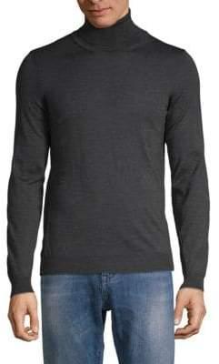 HUGO BOSS Musso Virgin Wool Turtleneck Sweater