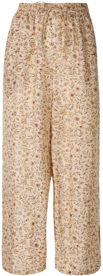 Samos cropped trousers