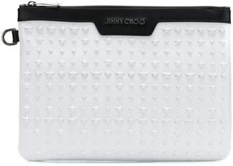 Jimmy Choo Derek studded pouch