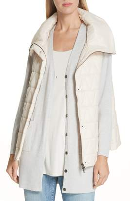 Eileen Fisher High Stand Collar Vest