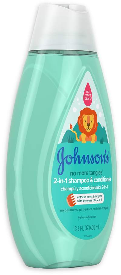 Johnson's No More Tangles 13.6 oz. 2-in-1 Shampoo & Conditioner