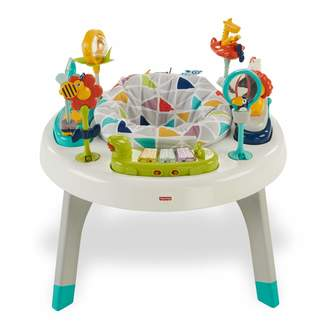 Fisher-Price 2-in-1 Sit-to-Stand Activity Centre Baby or Toddler activity Toy with Table Seat Textures Colours and Sounds for Sitting and Standing