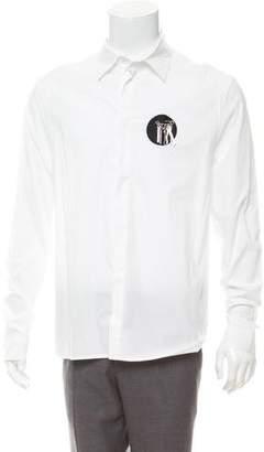 J.W.Anderson Tool Appliqué Button-Up Shirt