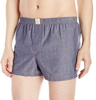 Nudie Jeans Men's Solid Chambray Boxers