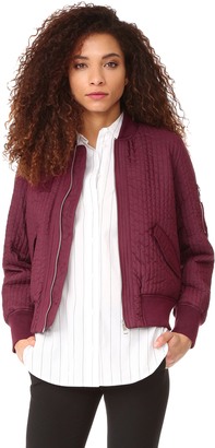 Whistles Quilted Bomber $270 thestylecure.com