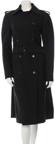 CelineCéline Belted Double-Breasted Coat w/ Tags