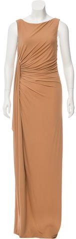 MICHAEL Michael Kors Michael Kors Ruched Evening Dress