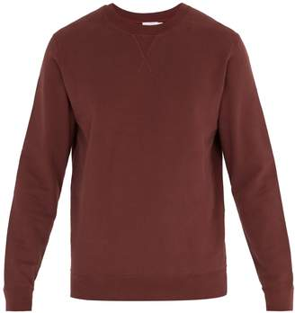 Sunspel Crew-neck cotton-jersey sweatshirt