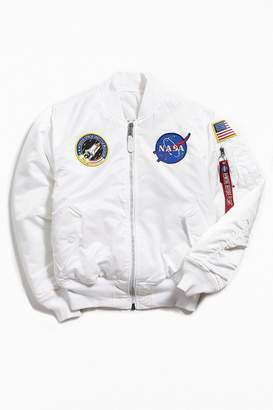 Alpha Industries MA-1 Nasa Slim Fit Bomber Jacket