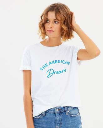 The American Dream Boyfriend Fit Tee