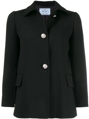 Prada fitted button-up jacket