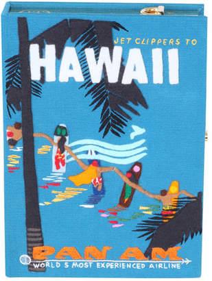 Olympia Le-Tan Hawaiian Surfers Box Crossbody Bag