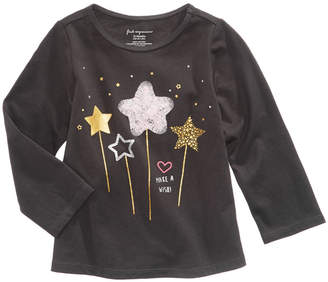 First Impressions Wand-Print T-Shirt, Baby Girls, Created for Macy's