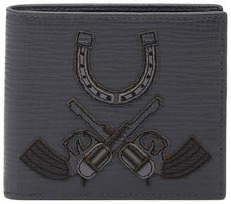 Dolce & Gabbana Horseshoe Applique Leather Wallet